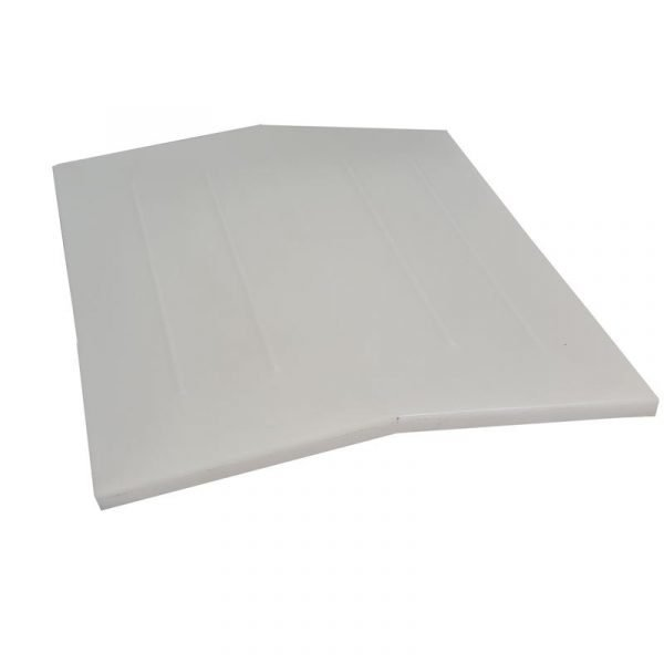 angled plastic roof vent for caravan or motor home